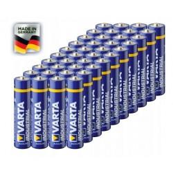 Alkalická baterie VARTA Industrial AA LR6 R6 - 40ks