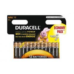 Alkalická baterie DURACELL Basic AAA LR3 R3 - 12ks