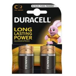 Alkalická baterie DURACELL Basic C LR14 R14 - 2ks