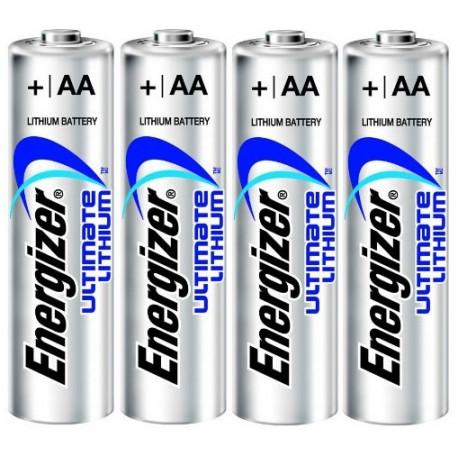Baterie ENERGIZER Ultimate Lithium AA LR6 R6 - 4ks