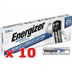 Baterie ENERGIZER Ultimate Lithium AA LR6 R6 - 10ks