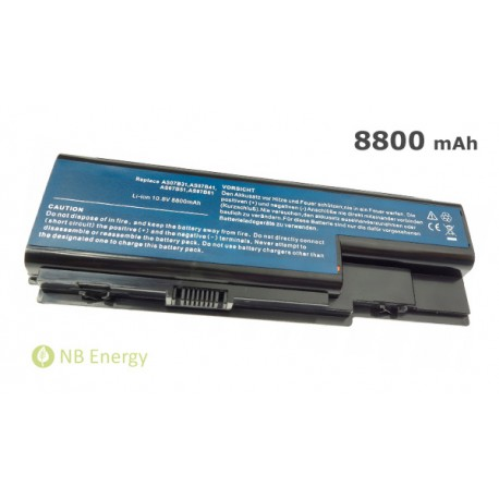 Baterie ACER Aspire 5520 5920 AS07B31 | 8800 mAh (95 Wh)