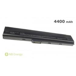 Baterie ASUS A42 A52 K52 A32-K52   4400 mAh (48 Wh)