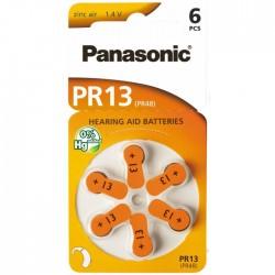 Baterie Panasonic 13 (PR48) - do naslouchadel | 6 ks (blistr) | cena za 1 ks baterie
