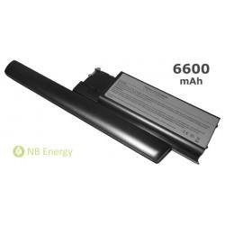 Baterie DELL Latitude D620 D630 JD634 | 6600 mAh (73 Wh)