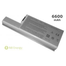 Baterie DELL Latitude D820 D830 D531 Precision M65 | 6600 mAh (73 Wh)